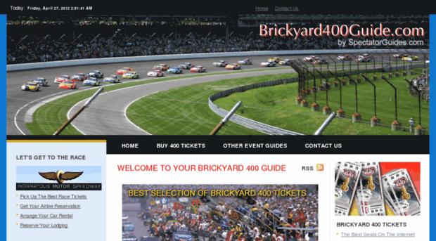 brickyard400guide.com