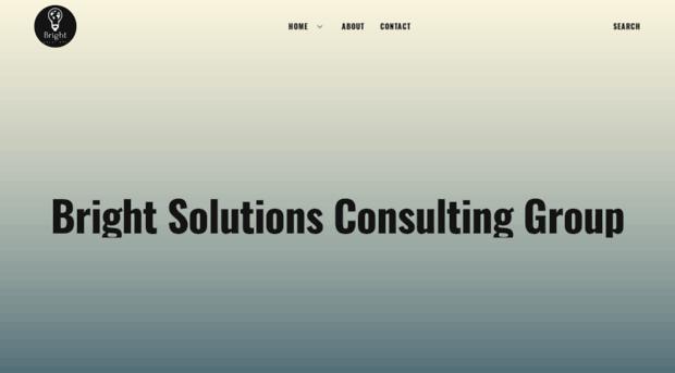 brightsolutionsconsulting.com