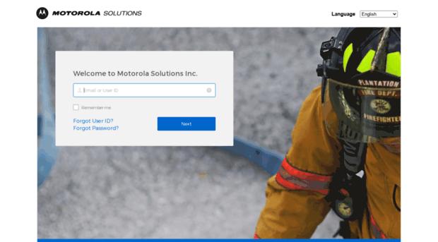 motorola business online