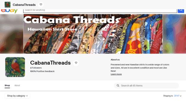 cabanathreads.com
