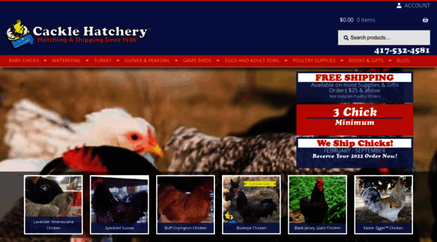 cacklehatchery.com