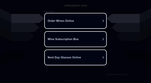 cailloublanc.com