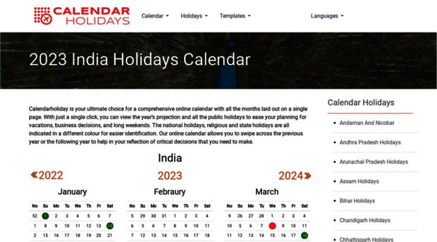 calendarholidays.in
