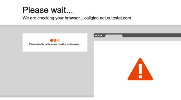 caligine.net.cutestat.com
