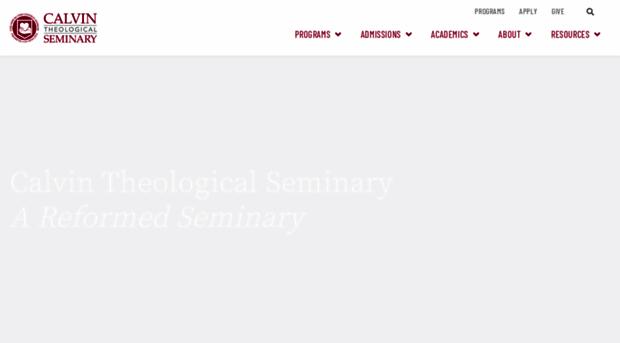 calvinseminary.edu