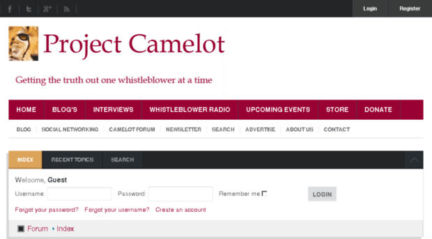 project camelot blog Project camelot productionscom project camelotorg original website kerry's blog project camelot on twitter.