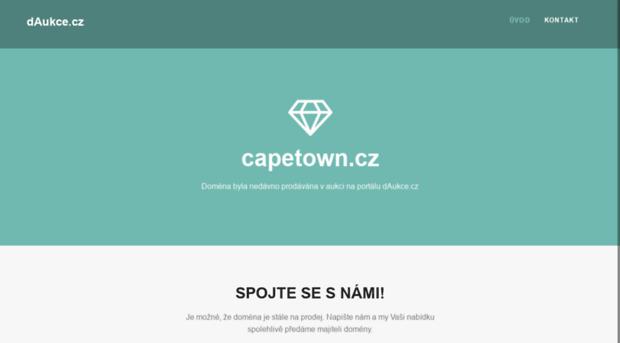 capetown.cz