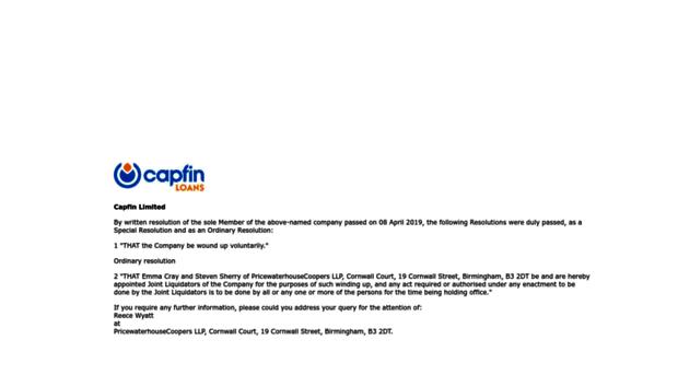 capfin.co.uk