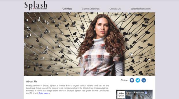 careers.splashfashions.com