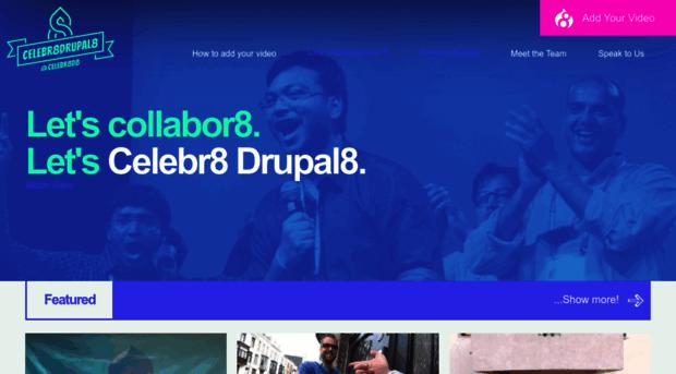 celebratedrupal8.com