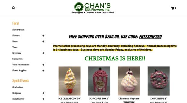 chansilkflowers.com