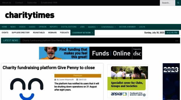 charitytimes.com