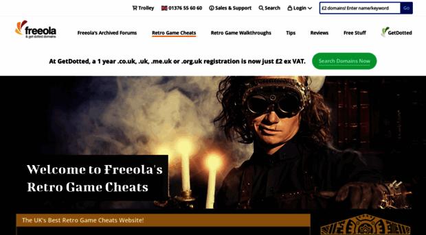 cheats.freeola.com
