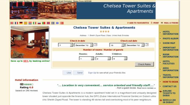 chelsea-tower-suites.h-rez.com