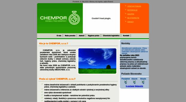 chempor.sk