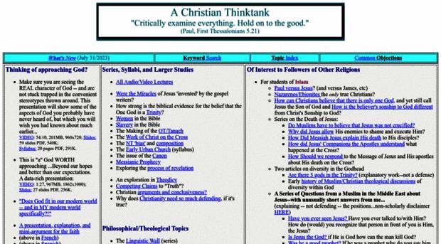christian-thinktank.com