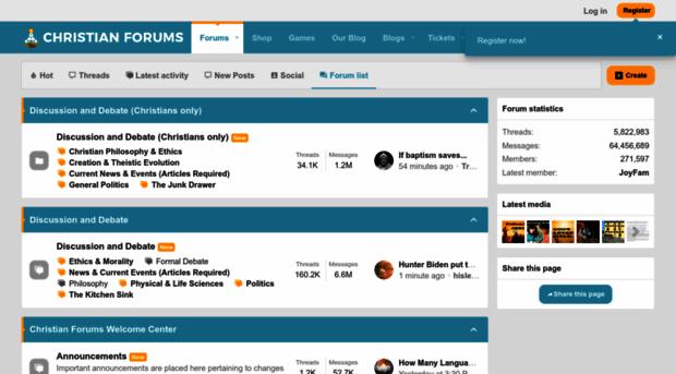 christianforums.com