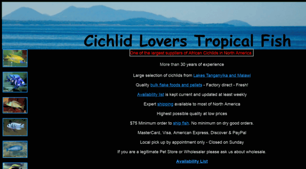 cichlidlovers.com