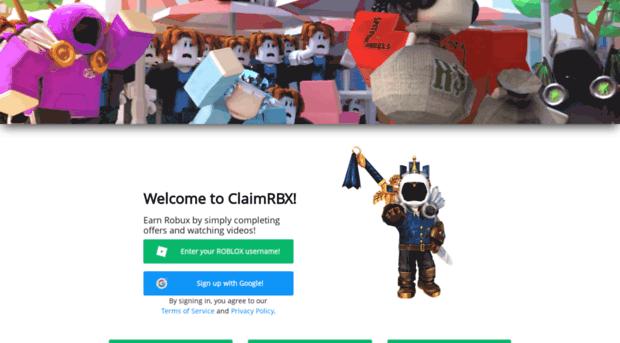 Rbx Earn Robux Claimrbx Com Claimrbx Robux Claimrbx