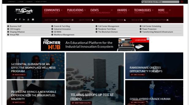 cloud-contact-center-enterprise.tmcnet.com