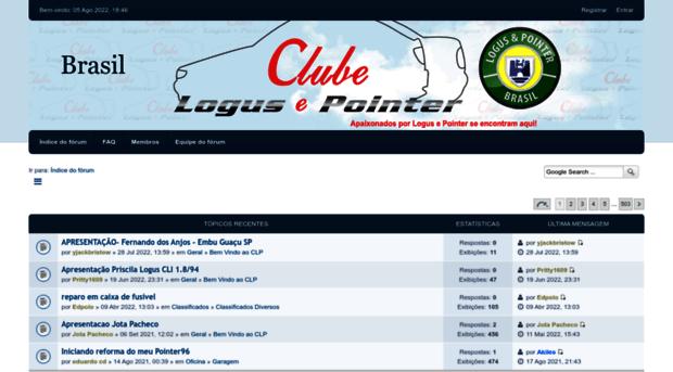 clubedologusepointer.com.br