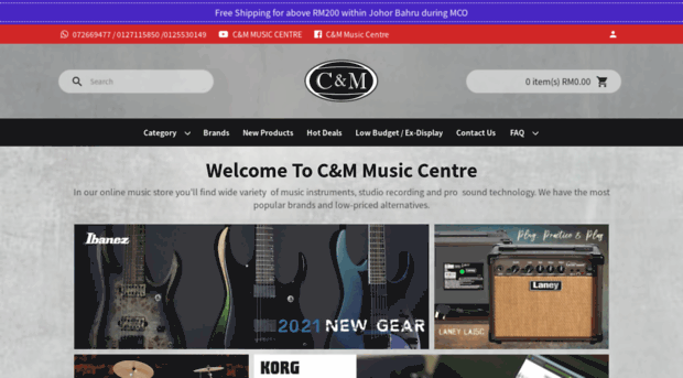 cmmusic.com.my