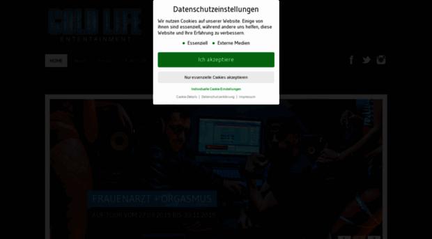coldlife-entertainment.com