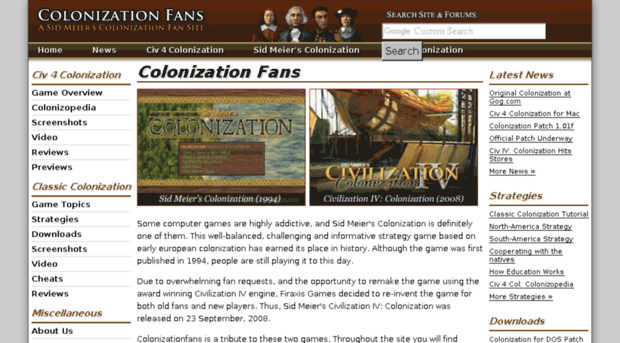 colonizationfans.com