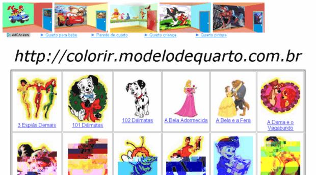 Colorir Modelodequarto Com Br Colorir Quartos Decorar Quart