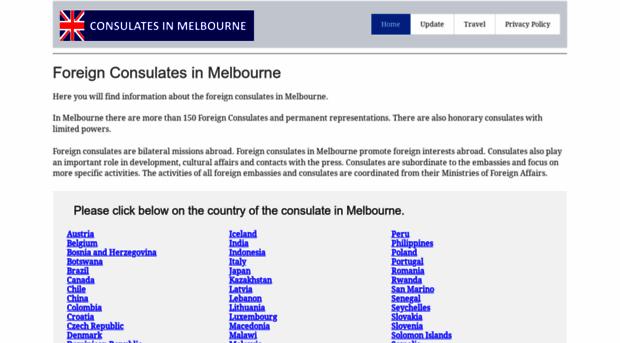 consulate-melbourne.com