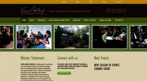 coplandhouse.org