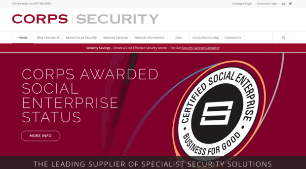 corps security the leading supplier of specialist - 620×343