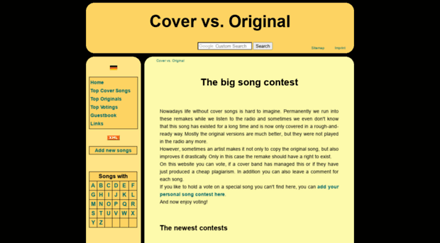 cover vs original all songs