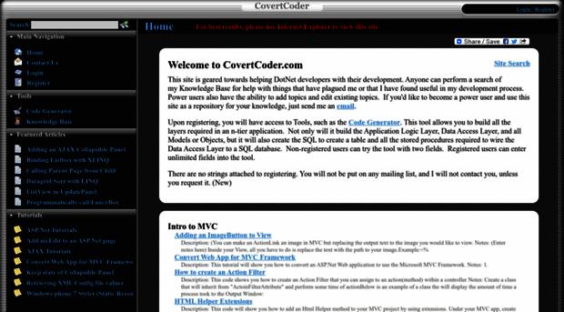 covertcoder.com