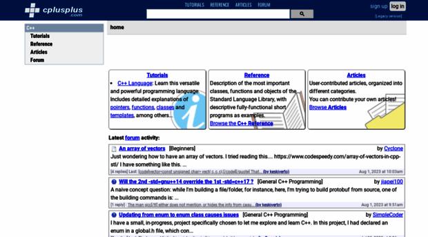 cplusplus.com