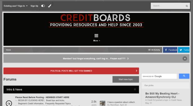 creditboards.com