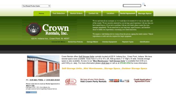 crownrentalsinc.com
