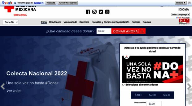 cruzrojamexicana.org.mx