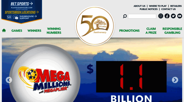 CT Lottery Official Web Site - induced info