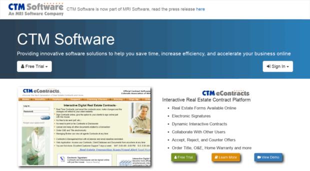 ctmsoftware.com