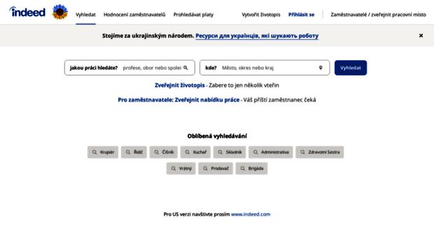 cz.indeed.com - Vyhledávání nabídek práce   In... - Cz Indeed