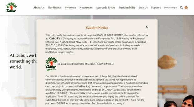 dabur.com