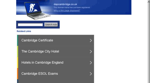 dapcambridge.co.uk