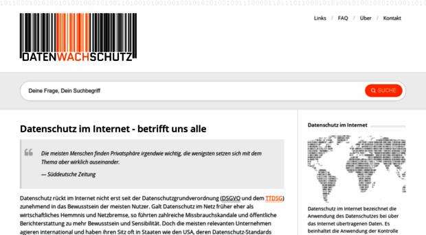 datenwachschutz.de
