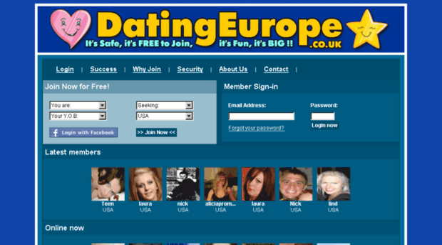 List of best free european dating sites