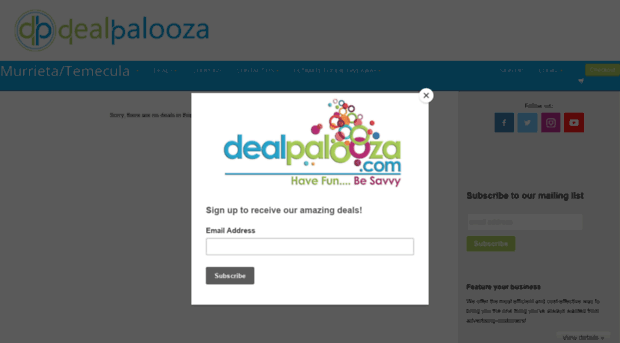 dealpalooza.com