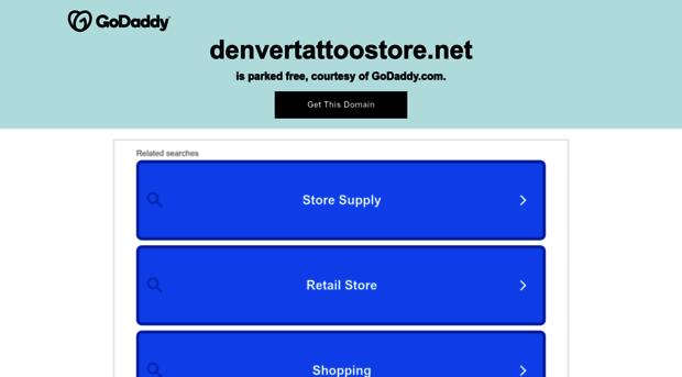 denvertattoostore.com