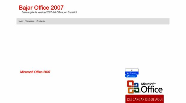 descarga gratis microsoft office