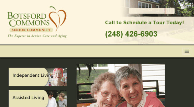botsford senior singles Botsford assisted living center provides an assisted living for seniors in farmington hills, mi we invite you to contact botsford assisted living center for specific questions however, for a quick overview, explore the above community details like amenities and room features to get a sense of what services and activities are available.