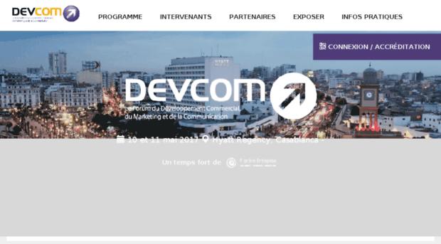 devcom-maroc.com